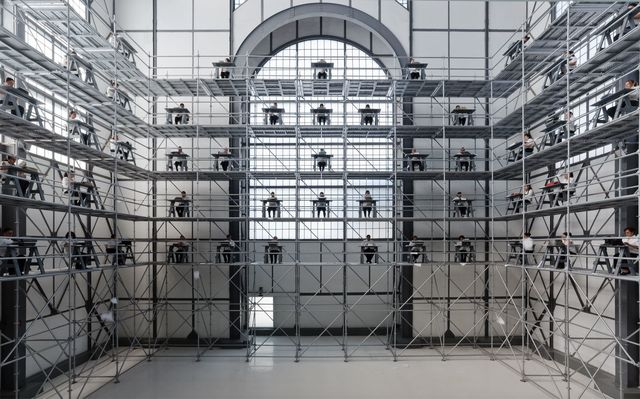 , 'Memorándum,' 2017, Labor