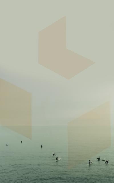 , 'Venice Surfers,' 2018, parts gallery