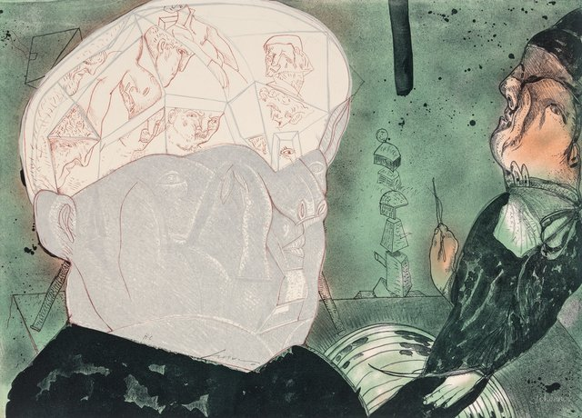 Jose Luis Cuevas, 'Macbeth', 1987, Heritage Auctions