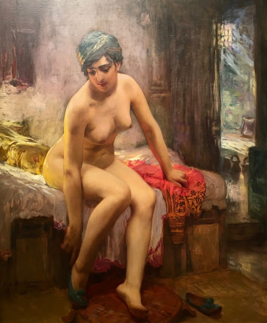 , 'After the Bath,' ca. 1875, Anderson Galleries