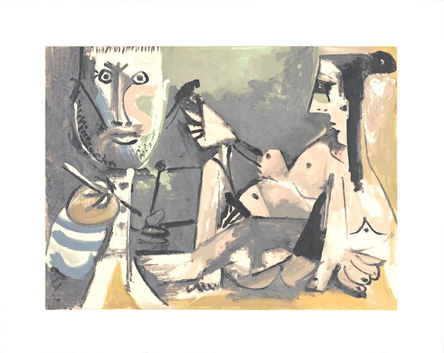 Pablo Picasso, 'The Artist and His Model', 1991, Ephemera or Merchandise, Serigraph, ArtWise
