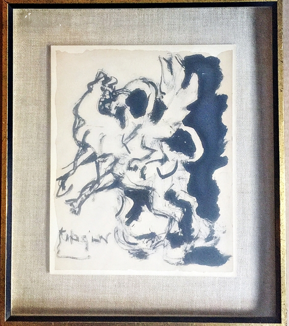 , 'Study for Bull and Condor ,' 1964, Alpha 137 Gallery