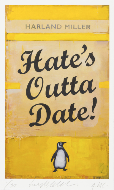, 'Hate's Outta Date,' 2017, RAW Editions