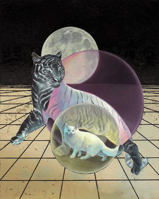 Alexis Kandra, 'MOON CAT', 2017, Deep Space Gallery