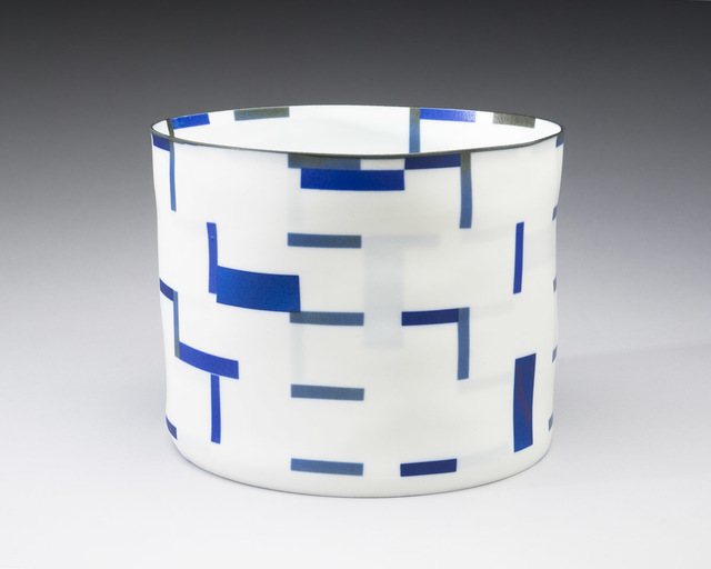 , 'Blue on Blue Cylinder #5,' , Lacoste Gallery