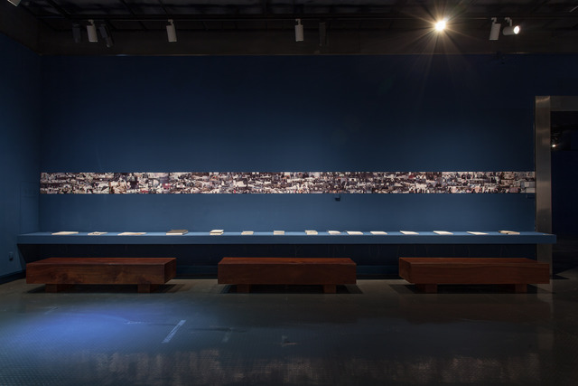 ", 'Ink Painting, Installation, Architecture and Theory view, ""Pan Gongkai: Dispersion and Generation"" at Zhejiang Art Museum,' , Zhejiang Art Museum"