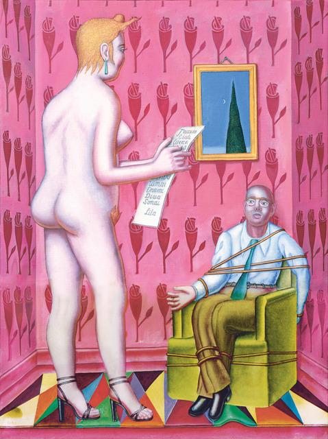 Konrad Klapheck, 'La lettre / Der Brief', 2015, Galerie Lelong & Co.