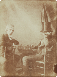 Attributed to Nicolaas Henneman or Antoine Claudet, 'The Chess Players,' no later than 1847, Phillips: The Odyssey of Collecting