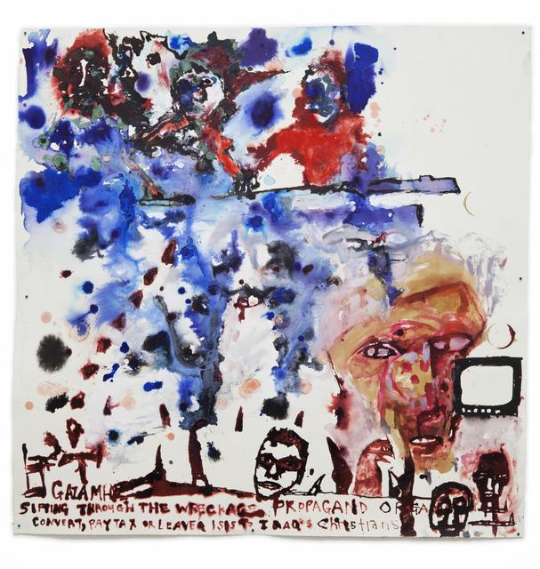 Locust Jones, 'Convert pay tax or leave', 2015, Dominik Mersch Gallery