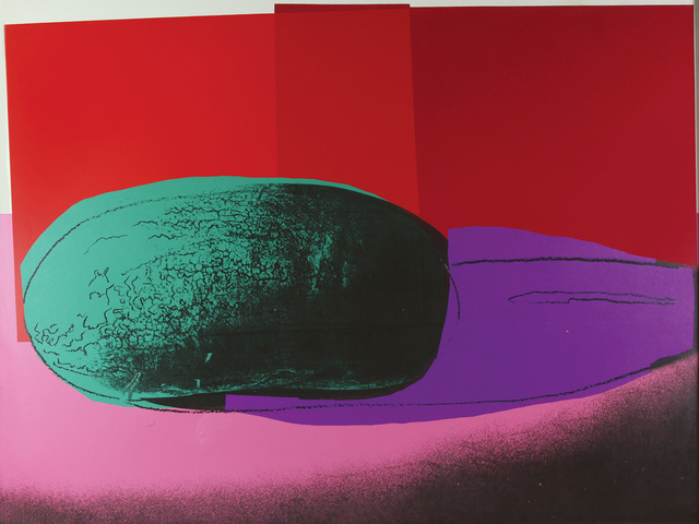 Andy Warhol, 'Space Fruit: Still Lifes Watermelon', 1979, Bertolami Fine Arts