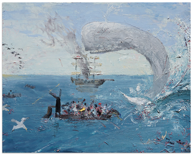 , 'Ahab and Moby Dick,' 2018, Anna Zorina Gallery