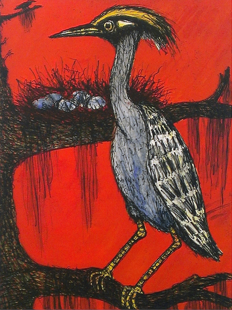 , 'Yellow-crowned Heron ,' 2015, William Reaves | Sarah Foltz Fine Art