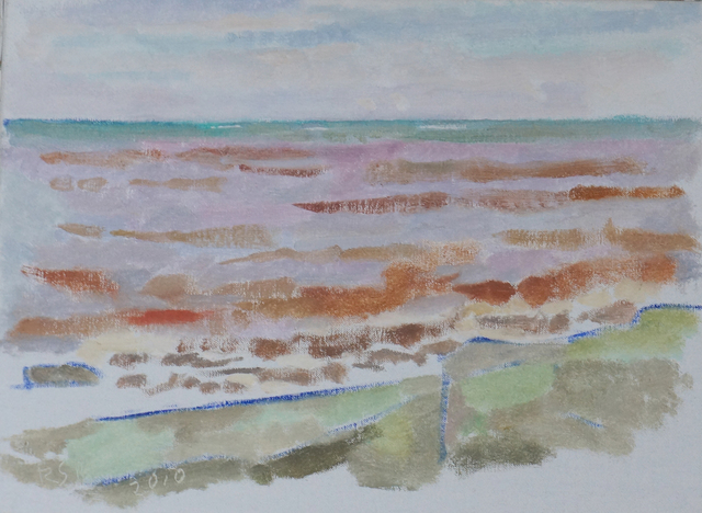 , 'Low Tide at Pointe Au Pic,' 2011, Geary