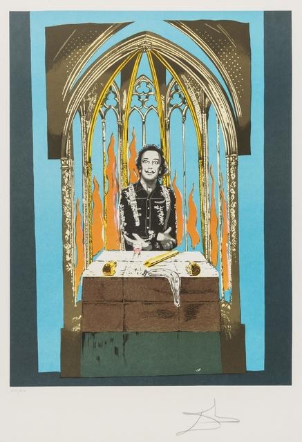 Salvador Dalí, 'Tarot. Dali's Inferno (Field 78-5)', 1978, Forum Auctions