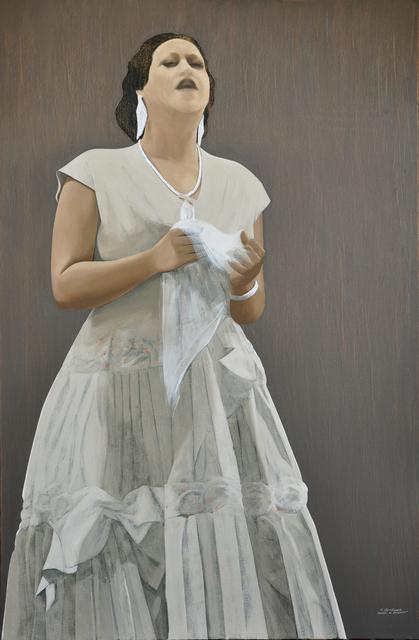 , 'Om Kalthoum 3,' 2017, Hafez Gallery