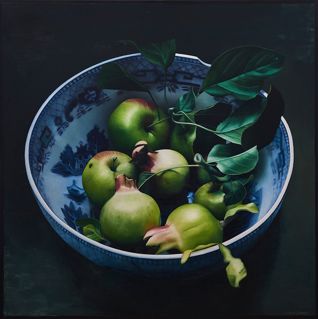 , 'Still Life with Apples and Pomegranates ,' 2017, Flinders Lane Gallery