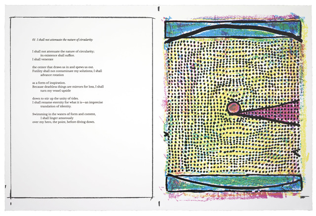 , 'Sometimes times: Prints and poems,' 2017, Two Palms