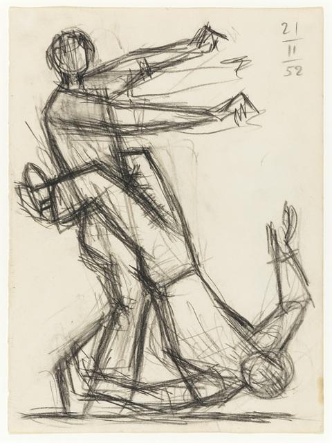 , 'Dancers ,' 1952, Osborne Samuel