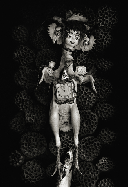 Michiko Kon (今 道子), 'Chicken, Clock, and Lotus Seed', 1999, Robert Mann Gallery