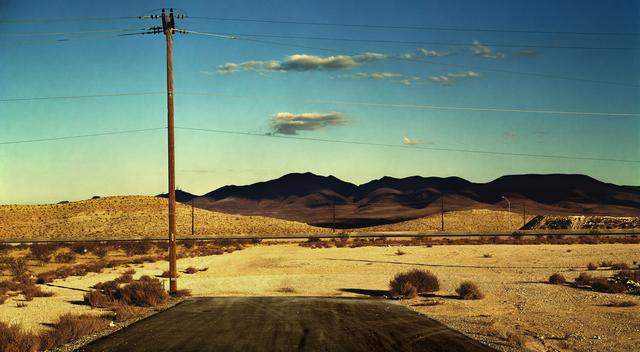 , 'Road to Nowhere, Las Vegas,' 2001, Opiom Gallery