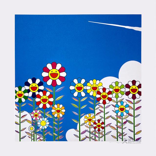 Takashi Murakami, 'Vapor Trail in the Blue Summer Sky', 2018, Kumi Contemporary / Verso Contemporary