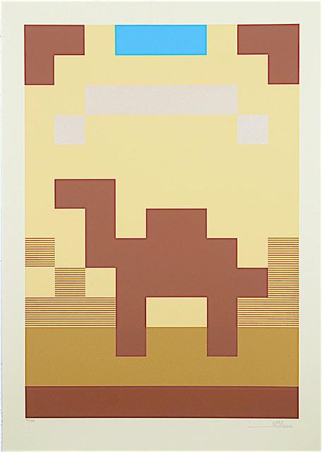 Invader, 'Camel ', 2015, Galerie Ange Basso