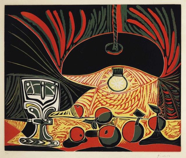 Pablo Picasso, 'Nature morte au verre sous la lampe', 1962, Christie's