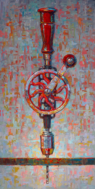 , 'My Sogard Hand Drill,' 2015, George Billis Gallery
