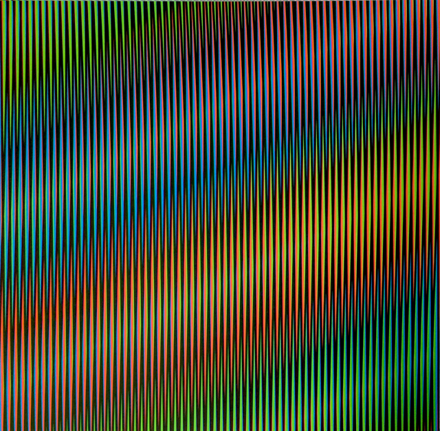 , 'Induction Chromatique a Double Fréquence RGB Serie Semana - Martes,' 2013, Marion Gallery