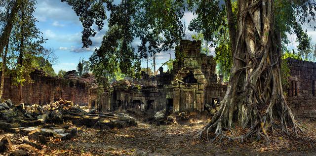 , 'Temple Preah Khan II,' 2010, Lucia Mendoza