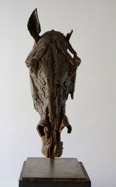 , 'Head of Metal Horse,' 2017, Galerie Bayart