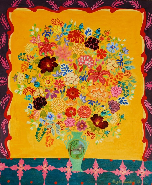 , 'Peonies,' 2013, Rebecca Hossack Art Gallery