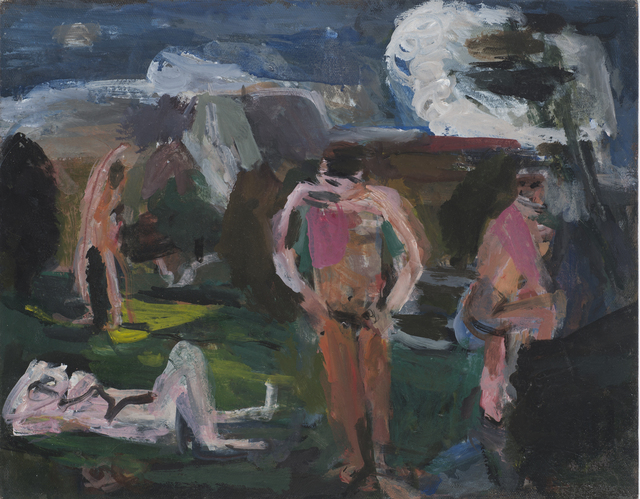 Janice Nowinski, 'Bathers at Rest', 2014, John Davis Gallery