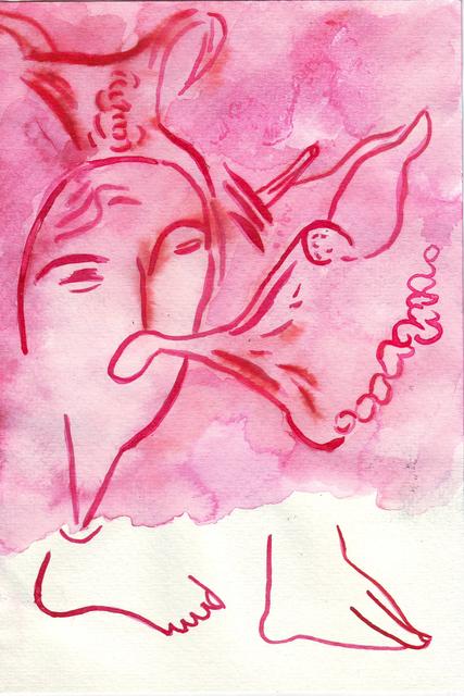 , 'Exhalacion,' 2015, Ruby