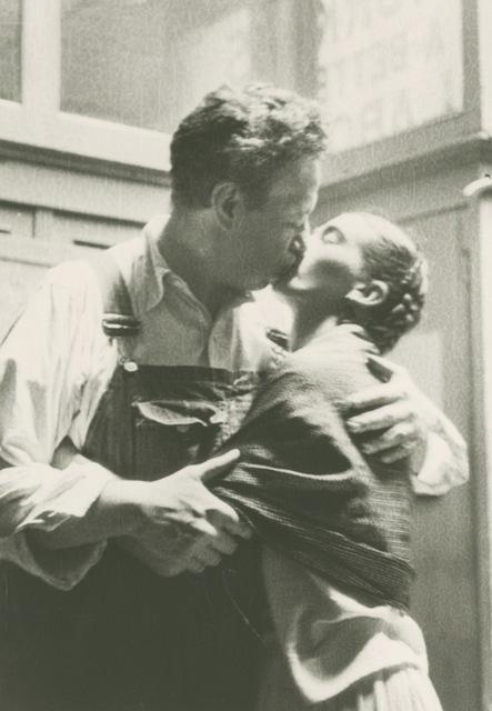 , 'Frida And Diego Caught Kissing ,' 1933, Matthew Liu Fine Arts