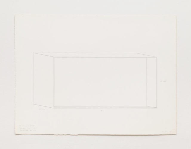 , 'Stainless Steel Green Plexiglass,' 1977, Jason McCoy Gallery