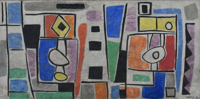 , 'Composición abstracta,' 1959, Galería de las Misiones