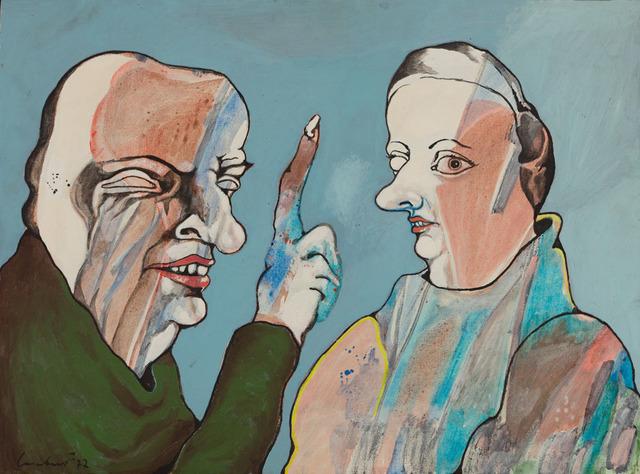 Lucebert, 'Blinde Jaloezie', 1964, CO   MO
