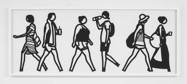 , 'Walking in Melbourne 5,' 2018, Alan Cristea Gallery