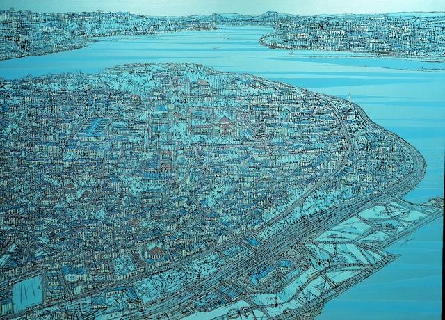 , 'Istanbul, Eski Yarimada-Mavi,' 2016, Gama Gallery