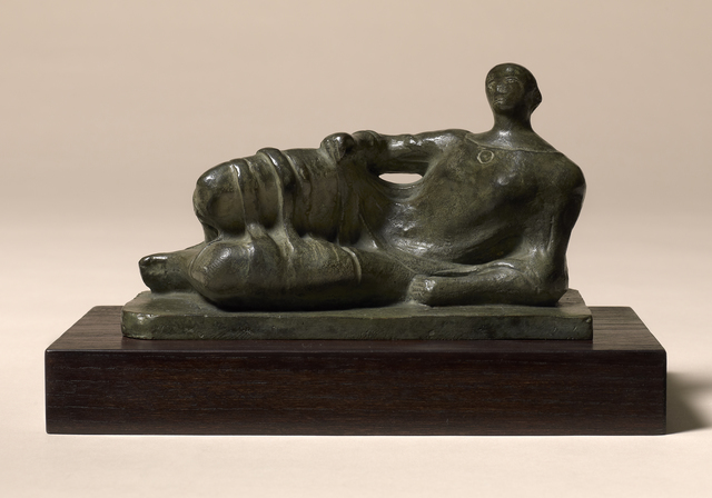 , 'Maquette for Reclining Figure (Maquette for Memorial Figure, Dartington Hall, 1945-6),' 1945, Offer Waterman