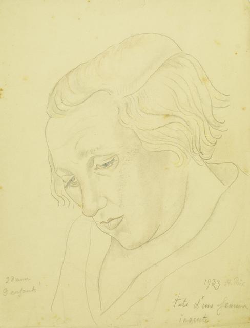 Marie Vorobieff Marevna, ''Tête d'une femme, St Prix'', 1933, Roseberys