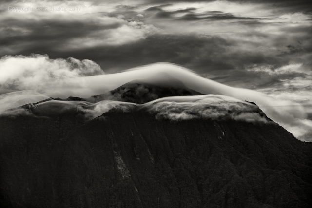 , 'Lenticular Clouds, Titiwangsa Range, Pahang, Malaysia,' 2017, SCShekar