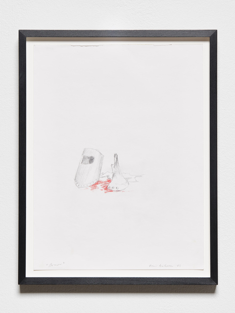 , 'Armor,' 2005, i8 Gallery