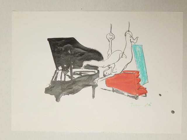 , 'O. T. (Flügel, 1985),' 1985, Galerie Ostendorff