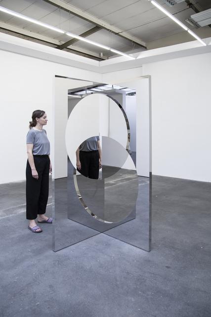 Jeppe Hein, 'Geometric Mirror Circles', 2020, Sculpture, Aluminium, stainless steel, high polished stainless steel, KÖNIG GALERIE