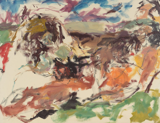 , 'Sketch: Landscape and Figures (o/c 64-20),' 1964, Berry Campbell Gallery