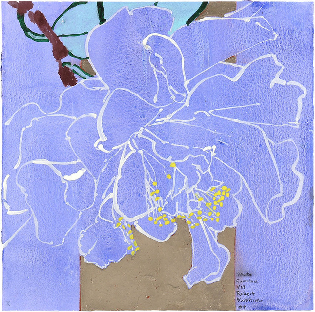Robert Kushner, 'WHITE CAMELLIA VIII', 2009, Jerald Melberg Gallery