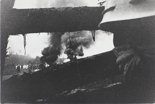 , 'Forcible Eviction, Narita, Chiba (Sanrizuka series),' 1971, MIYAKO YOSHINAGA