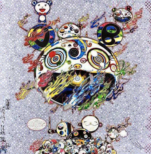 Takashi Murakami, 'Takashi Murakami 'Chaos' 2013 (Takashi Murakami prints)', 2013, Print, Offset lithograph, Lot 180